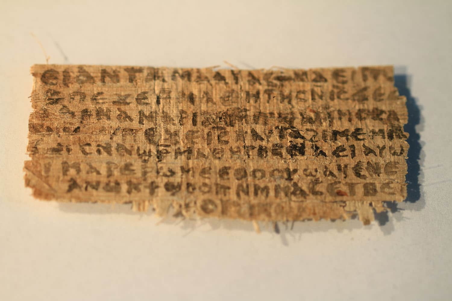 JESUS WIFE - PAPYRUS FRAGMENT FRONT
