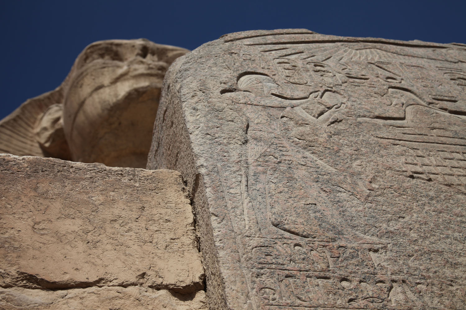 Sphinx and Dream stele