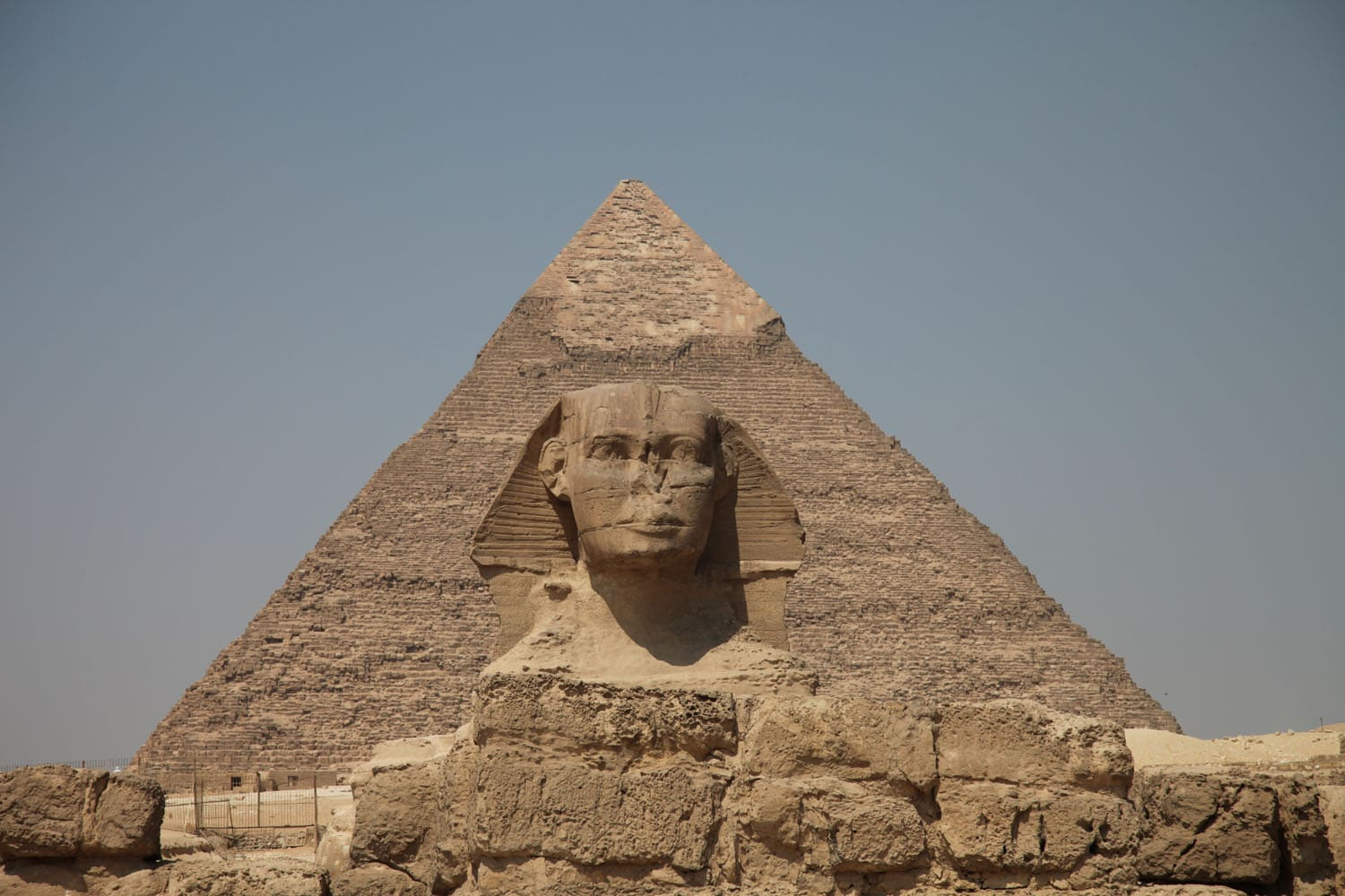 The Great Sphinx and Pyramide of Khafra